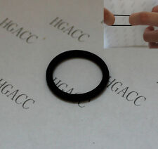 METRIC NITRILE RUBBER O-RINGS 1 MM DIAMETER C/S. VARIOUS SIZES 2 TO 15 MM ID