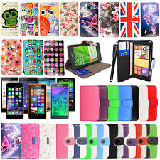 Great Deal Gift Pack Design PU Leather Wallet Flip Case Cover For Mobile Phones