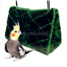 Parrot Bird Plush Hammock Hanging Cage Snuggle Hut Tent Bed Bunk Toy Size S/M/L