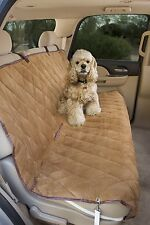 Epica Quilted microsuede Deluxe Rear Car Pet Seat Cover ~available in 3 colors~