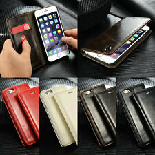Magnetic Flip Leather Wallet Card Pouch Stand Skin Case Cover For iphone 6 6Plus