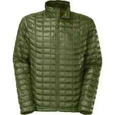 the north face mens thermoball insulated winter jacket scallion green many sizes