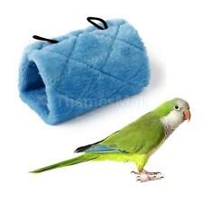 Parrot Bird Hammock Hanging Cave Cage Snuggle Hut Tent Bed Bunk Toy Size S/M/L