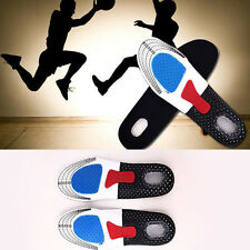 1Pair Women Men Gel Orthotic Sport Insoles Insert Shoe Pad Arch Support Cushion