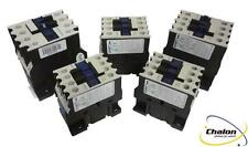 Chint NC1-32 Contactor range 15KW 32A AC3 3 pole plus open or closed Auxiliary