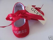 Baby Girls Dimonte Crystal Red Ballet Summer Shoes .. Pre Walkers .. Xmas