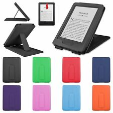 "PU Leather Stand Case Cover for 2014 Amazon Kindle 6"" eReader 7th Gen+Matte Film"