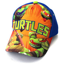 TMNT Ninja Turtles Toddler Baby Boys Baseball Cap HatTS52422ST Blue
