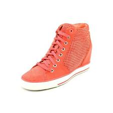 DKNY Cindy Laser Suede Sneakers Shoes New/Display