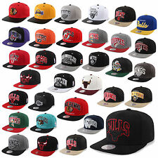 MITCHELL & NESS AND SNAPBACK CAP CHICAGO BULLS LA KINGS UVM KAPPE MÜTZE