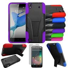 Phone Case For ZTE z797c Rugged Cover Kickstand with Screen Guard for ZTE Quartz