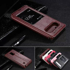 New Protective Flip Leather View Case Cover For Samsung Galaxy Note Edge
