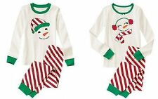 NWT Gymboree JOLLY CUTE SNOWMAN 2014 Christmas/Holiday Pajamas Adult/Daddy/Mommy