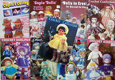 Vintage  CROCHET DOLL & CLOTHING & PROJECTS & Cupie Pattern Books YOU CHOOSE