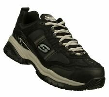 NEW Mens SKECHERS WORK 77013 EH SLIP RESISTANT Composite Toe Safety Shoes