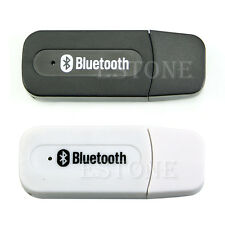 Hot USB Bluetooth Music Receiver Adapter 3.5mm Stereo Audio For iPhone4 4S 5 Mp3