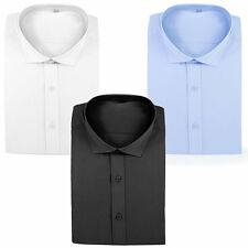 Mens Shirt Formal Smart Casual Fashion Shirt