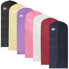 "Breathable Dress Suit Garment Clothes Covers Travel Storage Bag 60"" Hangerworld"