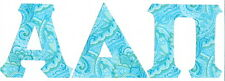 Any Fraternity Sorority A-Z Greek Letters IronOn NoSew All Available Alpha-Omega