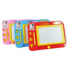 Multi Colors Develop Baby Kid Writing Toy Sketch Pad Magnetic Drawing Board X1