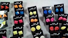New NYLON earrings NO METAL *can be used for Soccer or  Medical
