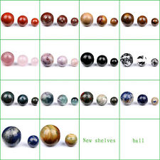 30MM 40MM 50MM Tumbled Lapis Lazuli Red Jasper Carved Crystal Sphere Ball Crafts