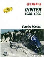 1987-1990 Yamaha Inviter CF300 Snowmobile Service Manual : LIT-12618-00-81