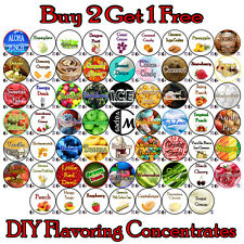 12ml eJuice Flavor Concentrates + eliquid e-juice e-liquid DIY RDA RBA