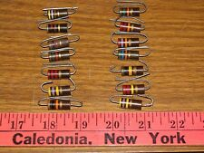 ALLEN BRADLEY AB 2w carbon comp. resistors in popular sizes for fender amps