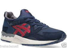 Asics Gel Lyte V Navy Blue Burgundy H5D0Y-5025 Mens