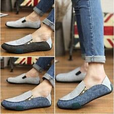 2015 New Mens Casual canvas Loafers Driving Moccasins Shoes Sneakers MX120