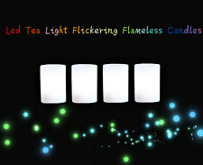 25pcs Led Tea Light Tealight Candle Flameless Flickering Wedding Battery Operate