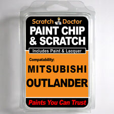 MITSUBISHI OUTLANDER TOUCH UP PAINT Chip Scratch Car Repair Kit . 2005 - 2015