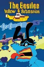 New Yellow Submarine Blue Meanie The Beatles Poster