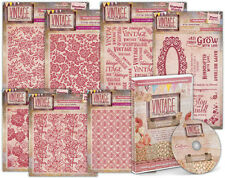 Vintage Floral Collection Embossalicious Embossing Folders & Rubber Stamps