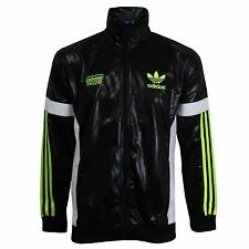 ADIDAS CHILE 62 MENS BLACK TRACKSUIT TOP