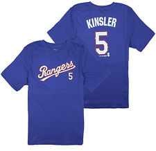 MLB Texas Rangers Little Kids / Youth Ian Kinsler #5 Player Tee T-Shirt, Blue