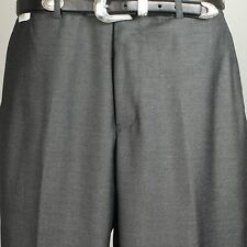 "Savile Row SLACK  - Mens Dress Charcoal Gray Slack  38"" Waist  - PP11"