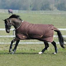 Weatherbeeta Horse Waterproof Winter Turnout Blanket 1200D 86 87 88 Brown DRAFT