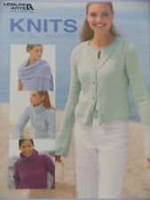 More Knit Books Women's Sweaters pullovers cardigans coats etc Leisure Arts