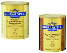 Ghirardelli Sweet Ground Chocolate Powder Mix 1 - 3 Lb Can