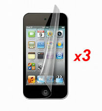 3x Anti-Glare Matte/ HD Clear Screen Protector Film for iPod Touch 4 4G 4th Gen