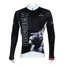 Lion Discovery Cycling Clothing Bicycle Long Sleeve Jersey Bike Sportwear Top