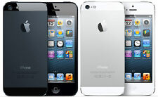 Apple iPhone 5 - 16 32 or 64GB - Black or White (AT&T) Smartphone POOR CONDITION