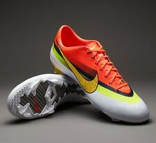NIKE Mercurial Vapor IX CR FG Cleats White/Volt-Total Crimson VARIOUS SIZES  NEW