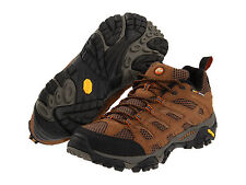 NEW IN BOX!! MERRELL Mens Moab Ventilator Hiking Shoes Earth Leather/Mesh J87729
