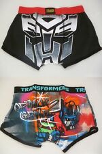 NEW TRANSFORMERS CARTOON CHARACTER BOXERS MEN BOYS HIPSTERS UNDER WEAR PANTS
