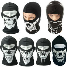 Full Face Skull Mask Balaclava Halloween Party Biker Motorcycle Cod Winter Warm