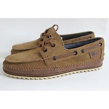 Lacoste Sauville Srm Suede Boat Shoes Shoes Sneakers Leather Brown Low Shoes