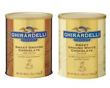 Ghirardelli Chocolate Sweet Ground Powder Mix 1 Can